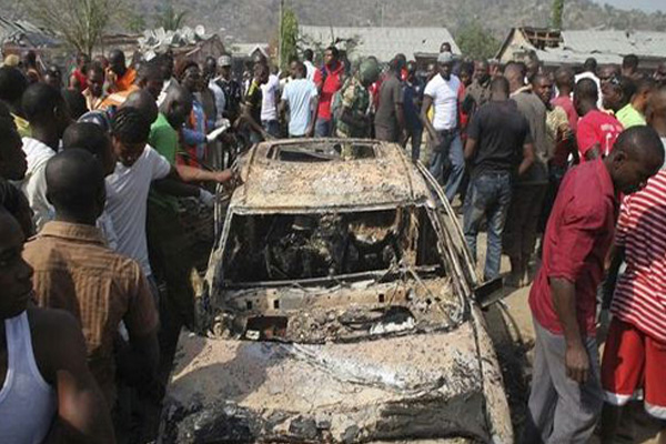 Young girl suicide bomber kills seven in Nigeria