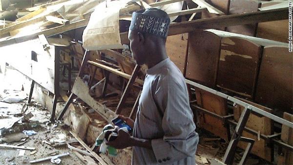 Gunmen set off bombs, open fire at college in Nigeria; 13 die