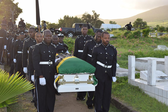 State funeral for Constable Lucas