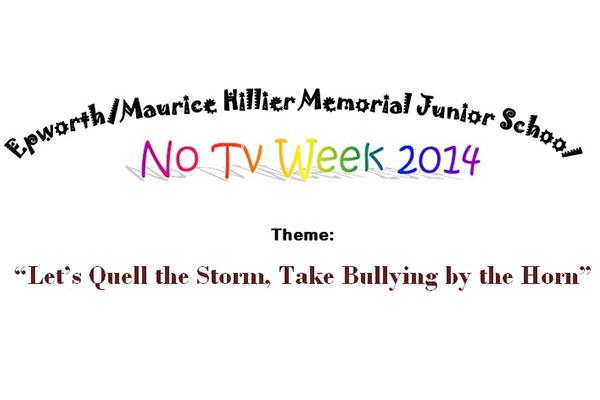 "Maurice Hillier Memorial Junior School launches 2014 ""No TV Week"""