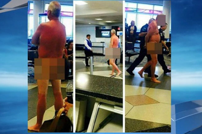 Overbooked flight to Ja leads to naked traveller at airport