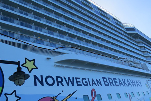 St. Kitts' Port Zante among several firsts for Norwegian Breakaway