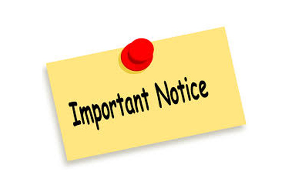 Department of Youth and Sports Notice