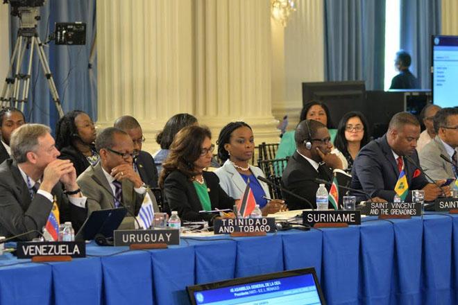 Hon. Mark Brantley Addresses OAS General Assembly