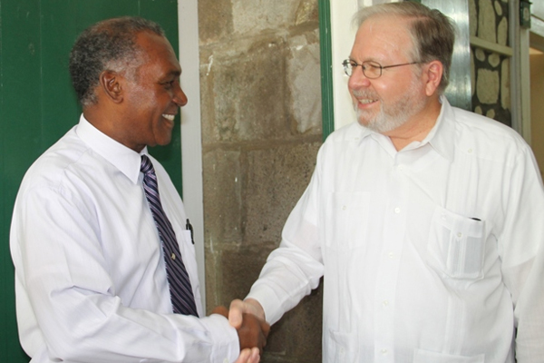 OAS Electoral Observer Mission meets with Nevis Premier ahead of February 16th poll