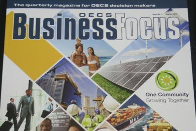OECS launches Business Focus magazine