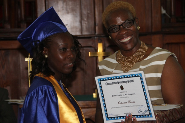 CSS top CCSLC graduate thanks teachers for accomplishments