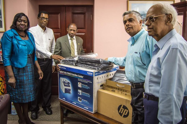 Office World Donates Computers to Fight Crime