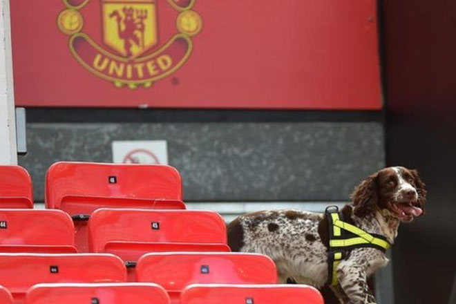 Old Trafford: Suspicious item destroyed at stadium was training device