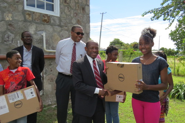 PM Douglas says students in Nevis must enjoy same opportunities as those in St. Kitts; warns against getting involve in crime