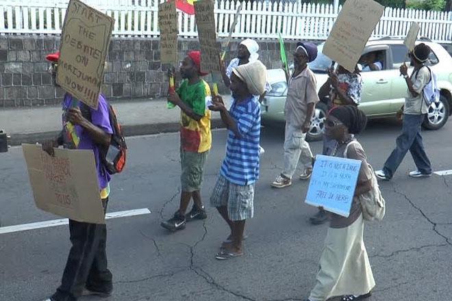 Rastafarian Solidarity March