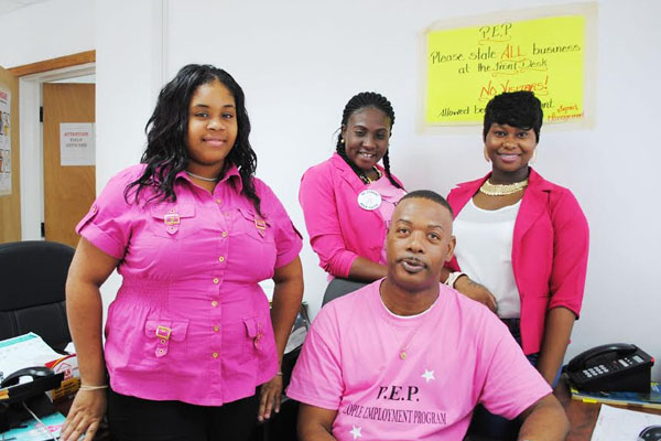 PEP staff observe Breast Cancer Awareness month
