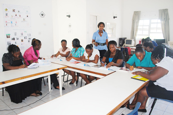 PEP class under Averil Archibald completes level-one training