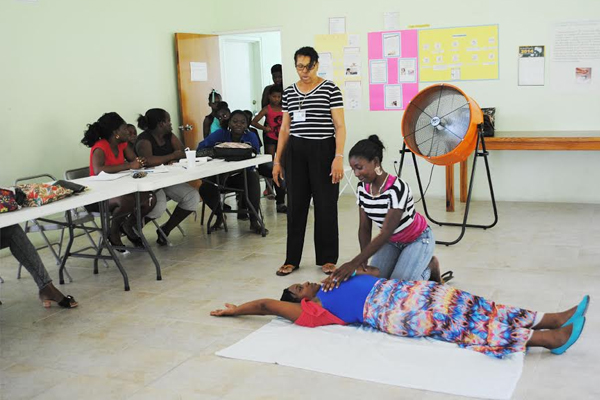 PEP Early Childhood Development Trainees benefit from First Aid course