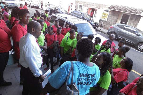 Young people publicly and stoutly defend the Labour Party Government's  PEP programme following criticism by PLP/PAM activist Dwyer Astaphan