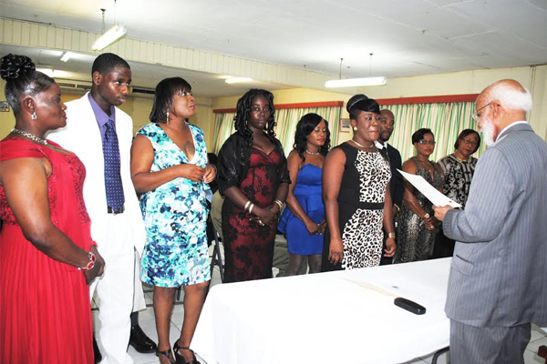 PEP participants sworn in as Island Constables