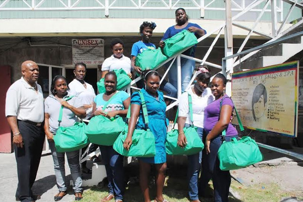 PEP cosmetology class in Nevis moves into high gear, Prime Minister praised