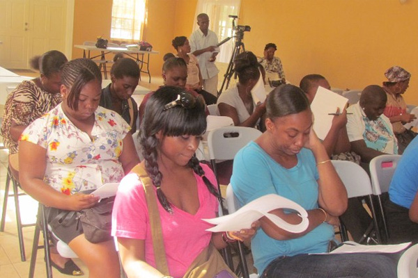 40 persons start PEP-financed cosmetology and hospitality training programme in Nevis