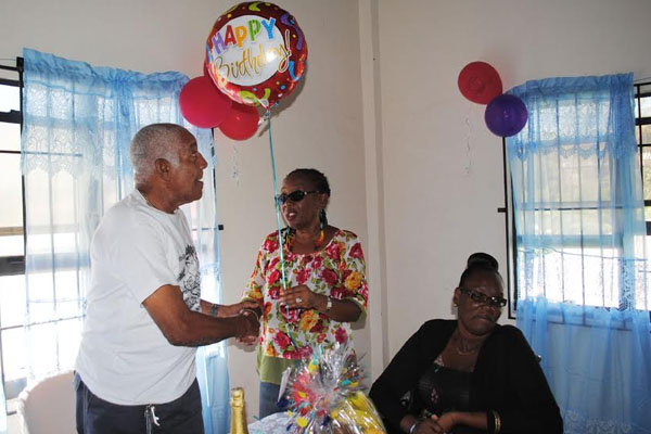 PEP participants hold surprise party for SKNAPD officials