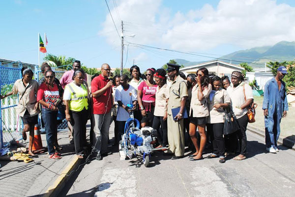 PEP Road Safety project marks off at Tucker Clarke Primary School