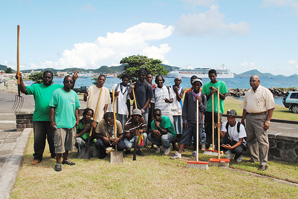 PEP's contribution to Parks and Beaches Unit lauded