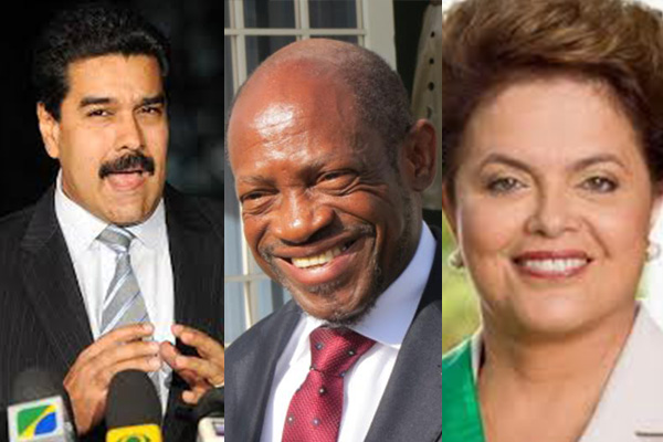 PM Douglas was expected to meet with Presidents of Brazil and Venezuela