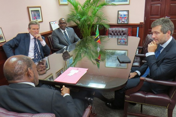 LIME informs PM Douglas of US$10 million investment in St. Kitts and Nevis