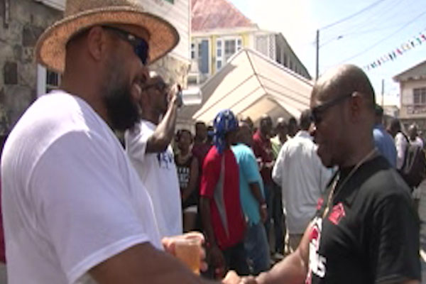PM Douglas Enjoys Nevis Festivities
