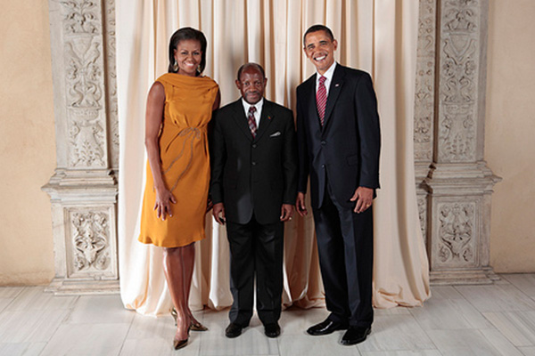 PM Douglas praises US President Obama for commitment to global peace