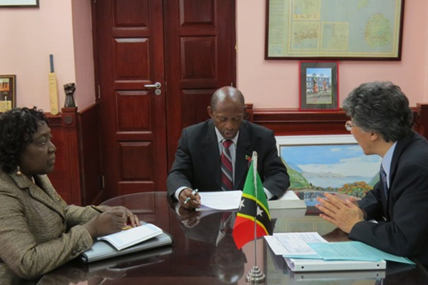 St. Kitts and Nevis and Japan look forward to increased bi-lateral relations