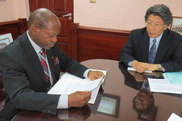 PM Douglas accepts personal invitation from Japan counterpart to attend Japan-CARICOM Summit in Trinidad