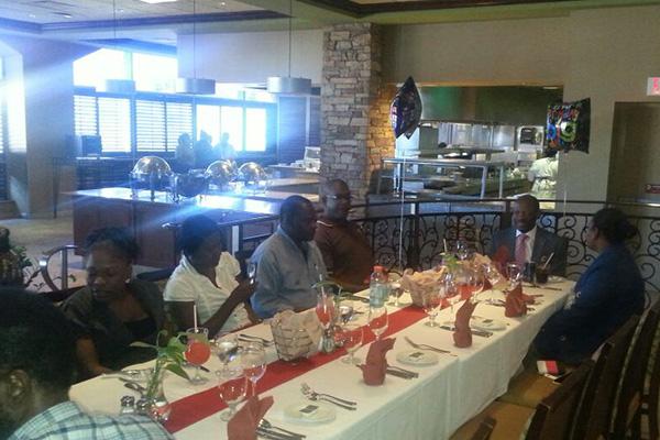 ZIZ celebrates with Prime Minister Douglas