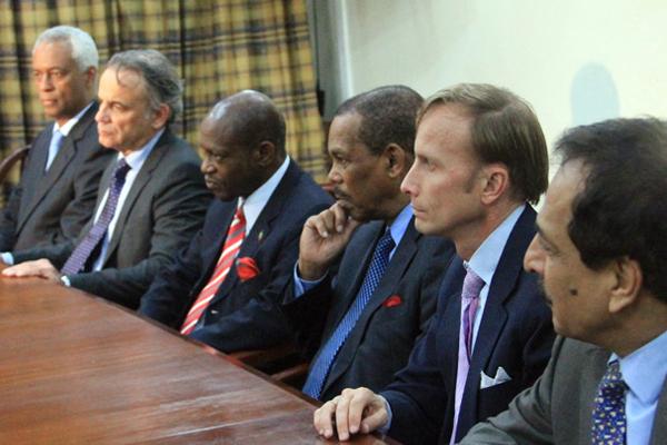 PM Douglas outlines roadmap for post 2015 HIV/AIDS development agenda