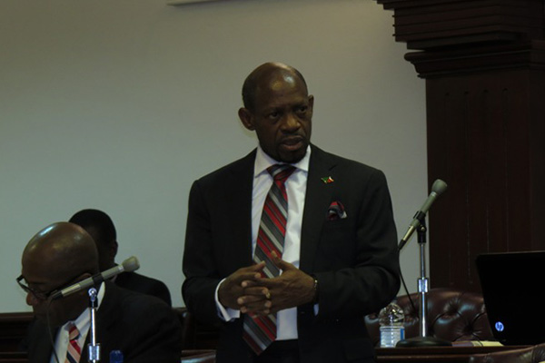 STATEMENT By the Right Hon. Dr. Denzil L. Douglas Prime Minister of St. Kitts and Nevis In the National Assembly of St. Kitts and Nevis