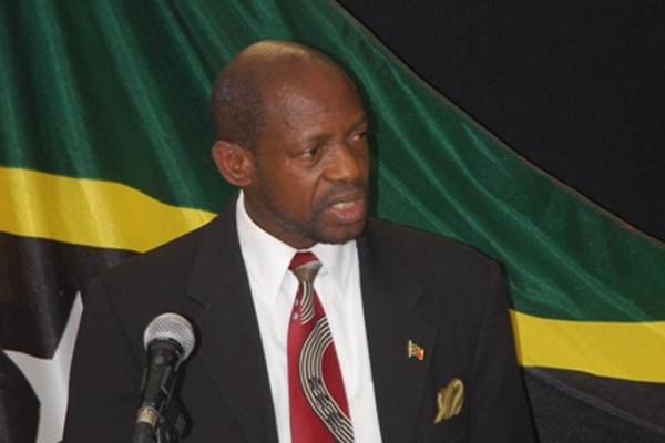 PM Douglas meets the press on Wednesday