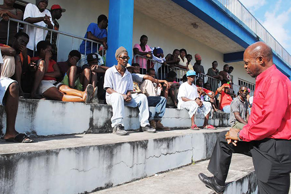 PM Douglas urges PEP workers to use skills learnt to better themselves; no one is being sent home
