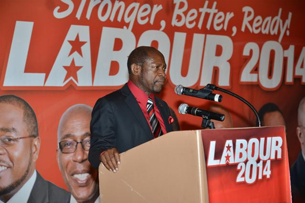 PM Douglas re-elected Labour Party leader for 26thconsecutive year