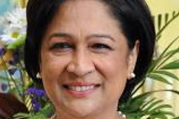 Trinidad and Tobago PM receives 'Democracy Medal'