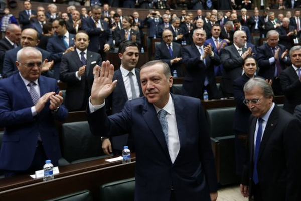 Turkey PM Erdogan says 'tapped' phone call to son 'fabricated'