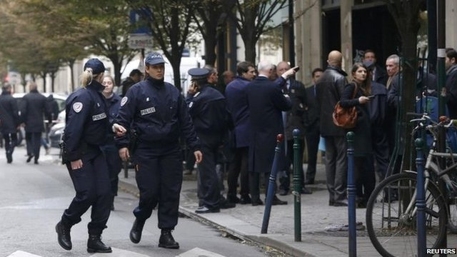 Paris gun attacks: Liberation and Societe Generale hit