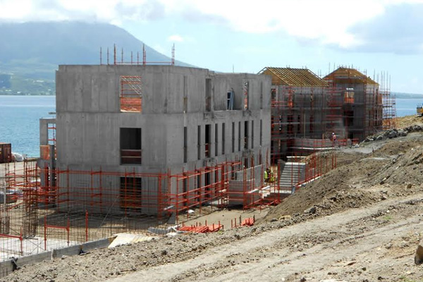 Work starts on 15 more buildings at Park Hyatt St. Kitts