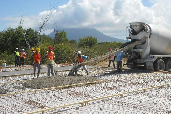Construction of site office for Park Hyatt St. Kitts underway