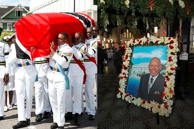 Trinidad, region say goodbye to Patrick Manning