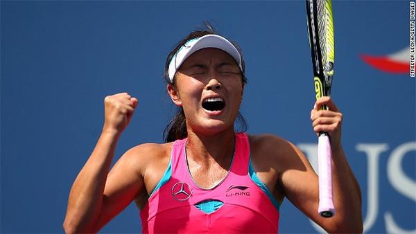 Peng powers into U.S. Open semifinals
