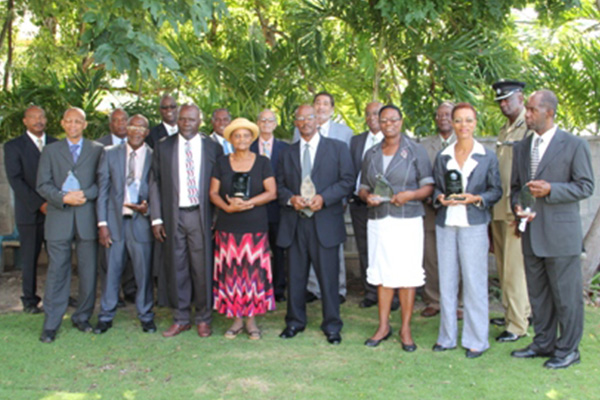 Persons serving the Nevis Island Assembly in 30-year history recognised