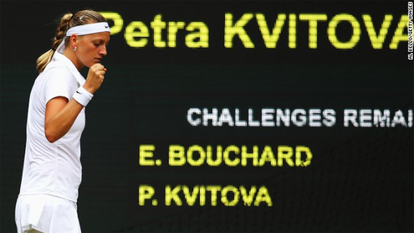 Wimbledon: Petra Kvitova thrashes Eugenie Bouchard in women's final