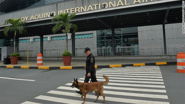 Four arrested over alleged Manila airport bomb plot, state-run media report