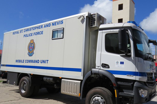Police Force gets Mobile Command Unit