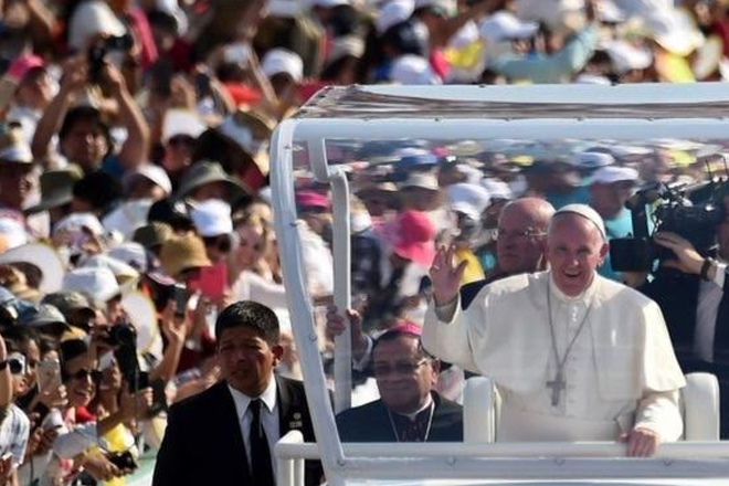 Mexico indigenous people: Pope Francis asks for forgiveness