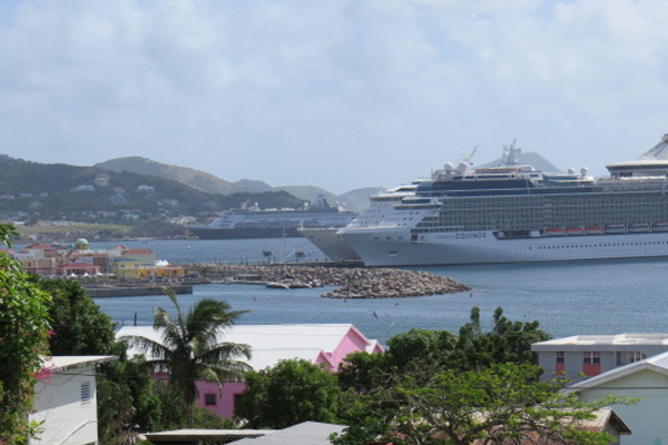Equinox, Maasdam among three cruise ships in port